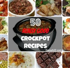 Crockpot Recipes. May have to get myself a crockpot, sound ideal for winter: come home to a cooked meal!