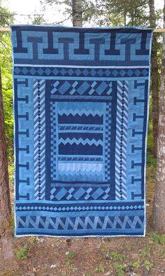 Seminole denim quilt