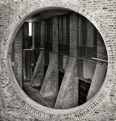 Indian Institute of Management in Ahmedabad, India. Louis Kahn. 1962-74.