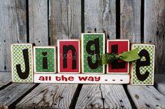 Cute Christmas block idea