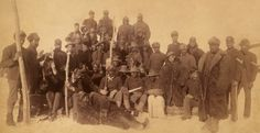 An entire regiment of Buffalo Soldiers