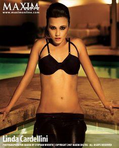 Linda Cardellini in Maxim magazine