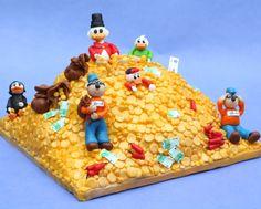 Uncle Scrooge Cake by Dutch cake lady Leonietje