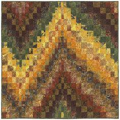 Tonga Treat Strips - No Measure Bargello - Daniela Stout, Cozy Quilt Designs