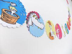 Dr Seuss Bunting - children's bunting #folksy