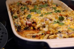 Mexican pasta dug into by Southern Fairytale (Rachel), via Flickr