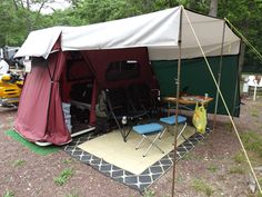 Pop Up Tent Trailers Small Car - Lees-ure Lite