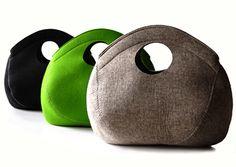 Pia Wallen Felt Bag wool felt, cleanses, purs, bag product, felt bags, buy felt, blog, wallen bag, pia wallen