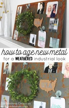 How to Age New Metal