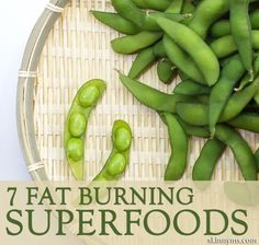 These 7 Fat-Burning Superfoods work in a variety of ways to help you lose weight and keep it off!  #superfoods #weightloss #fatburning