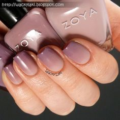Wacky Laki: Zoya Naturel gradient... nail blog