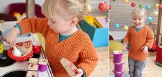 Easy-Peasy Sweater - (1-5 yrs) (US9/5.5mm) free pattern by Anna  Heidi Pickles