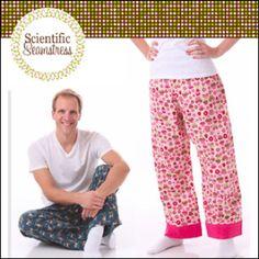 Easy-Fit Pants for Tweens, Teens, and Adults: Men & Women XXS-3XL | YouCanMakeThis.com