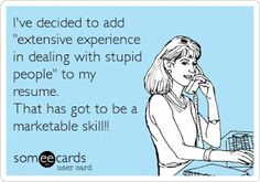 Marketable skill for sure!