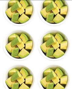 Avocado bites.