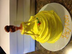 Belle Princess Doll Cake