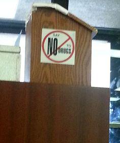 Don't Say No to Drugs? Colorado's new slogan!