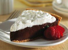 Chocolate Cream Pie| Recipes with SPLENDA® Sweetener Products