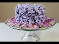 Rosette Cake(Rose Cake)Tutorial
