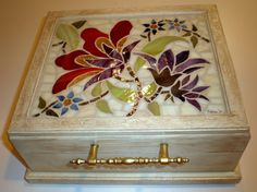 Stained Glass Mosaic Box