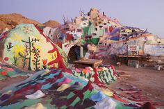 Salvation Mountain is a must-see if you're road tripping through CA.
