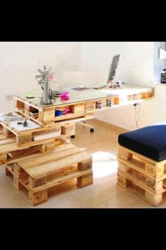 Pallet used in cool way