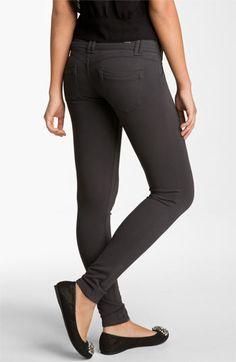Jolt Ponte Skinny Pants (Juniors) available at #Nordstrom