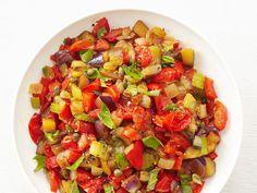 Eggplant Caponata #Veggies #Seasonal #MyPlate
