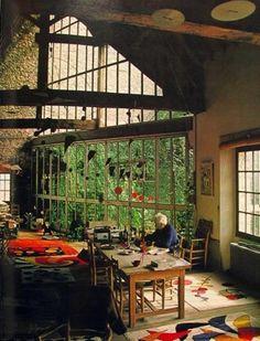 Alexander Calder's {studio}