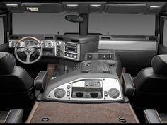 Hummer H1 (interior).