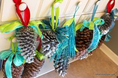 How to add Ribbon to Pinecones