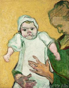 Vincent van Gogh - Madame Roulin and her baby, November 1888