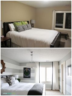 Guest Bedroom Reveal before and after along with sources