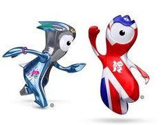 London Games Mascots! twnsdcs