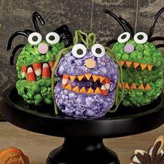 Popcorn Ball Monsters