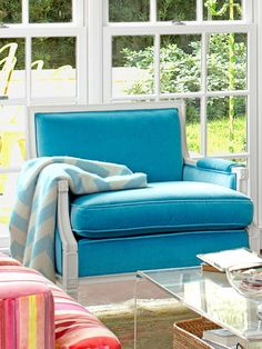 Touches of Turquoise - Fun New Decorating Ideas on HGTV