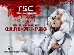Stop The Shopping Channel from selling genuine fur products! care2.com/go/z/ShopChan