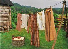 rustic clothes line - James Cramer