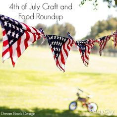 4th Of July Crafts And Food! - Dream Book Design