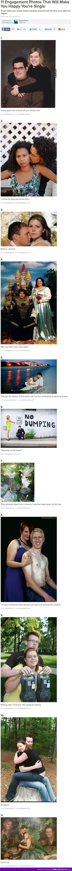 Fail engagement photos, I'm dying...