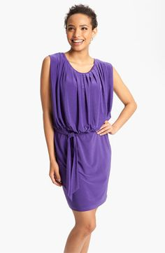Alex & Ava Pleated Blouson Jersey Dress available at Nordstrom