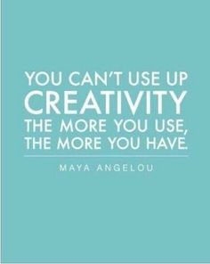 A true inspiration inspiring quote about creativity