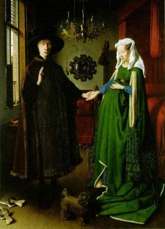 Arnolfini Wedding Portrait - Jan van Eyck