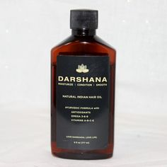 Bye Bye Dry Itchy Scalp! Thank You Darshana Natural Indian Hair Oil! #ayurveda #naturalhair #hairoil