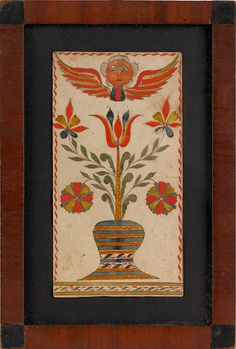 Bucks Co. PA book plate, early 19th c
