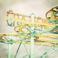 Vintage - roller coaster