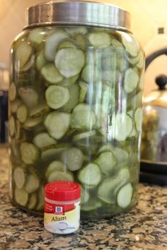 Homemade 7 Day Sweet Pickles