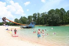 Artesian Springs In Newton, Texas. It is a natural spring in the middle of the woods, the water is beautiful, they have cabins and spots for campers. The kids LOVE it!