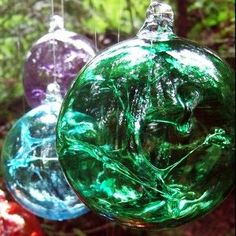 Emerald Green Witch Ball