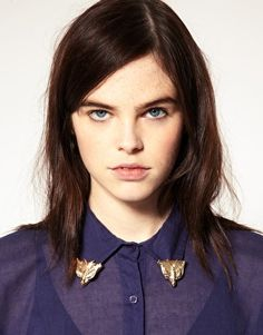 ASOS Smooth Triangle Collar Tips! Love <3